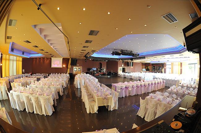 Banquet center in Corfu
