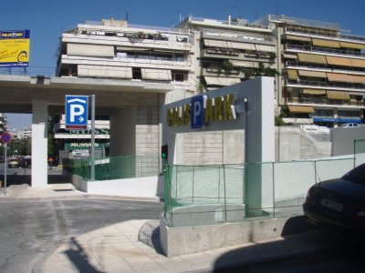 Design and construction of an underground car park at Kanigos square, Athens