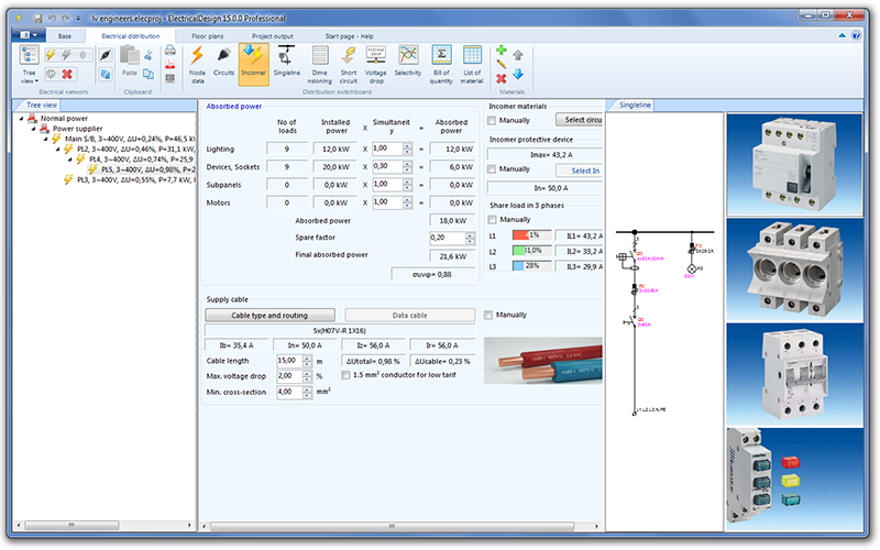ALL THE TOOLS YOU WILL NEED TO DESIGN A BUILDINGS ELECTRICAL INSTALLATION