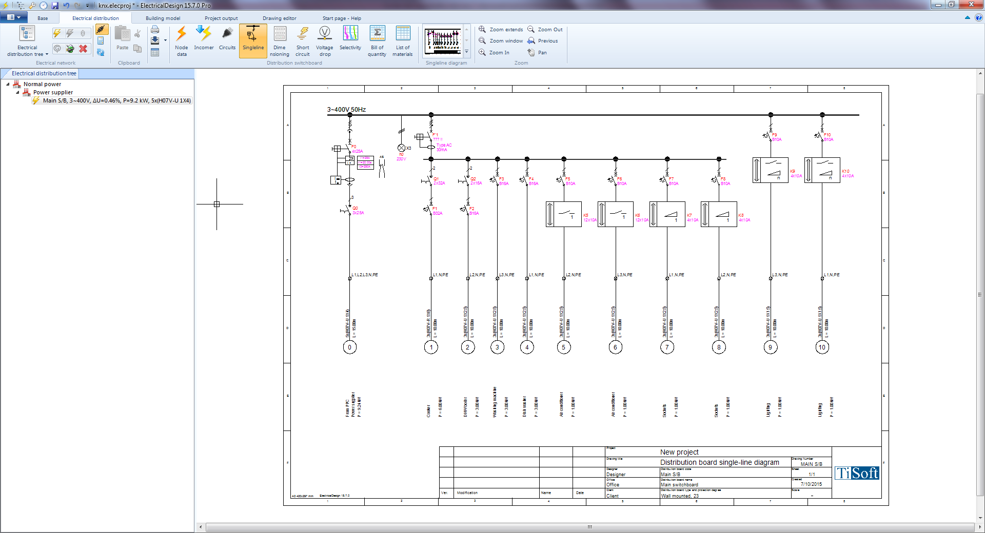 knx smart designs and installations with i bus� knx knx lighting control wiring diagram at gsmx.co