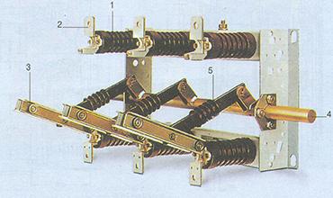 Αποζεύκτης ονομαστικής τάσης 24 kV με μαχαίρια