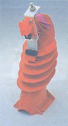 Εξωτερική όψη κούφιου μονωτήρα